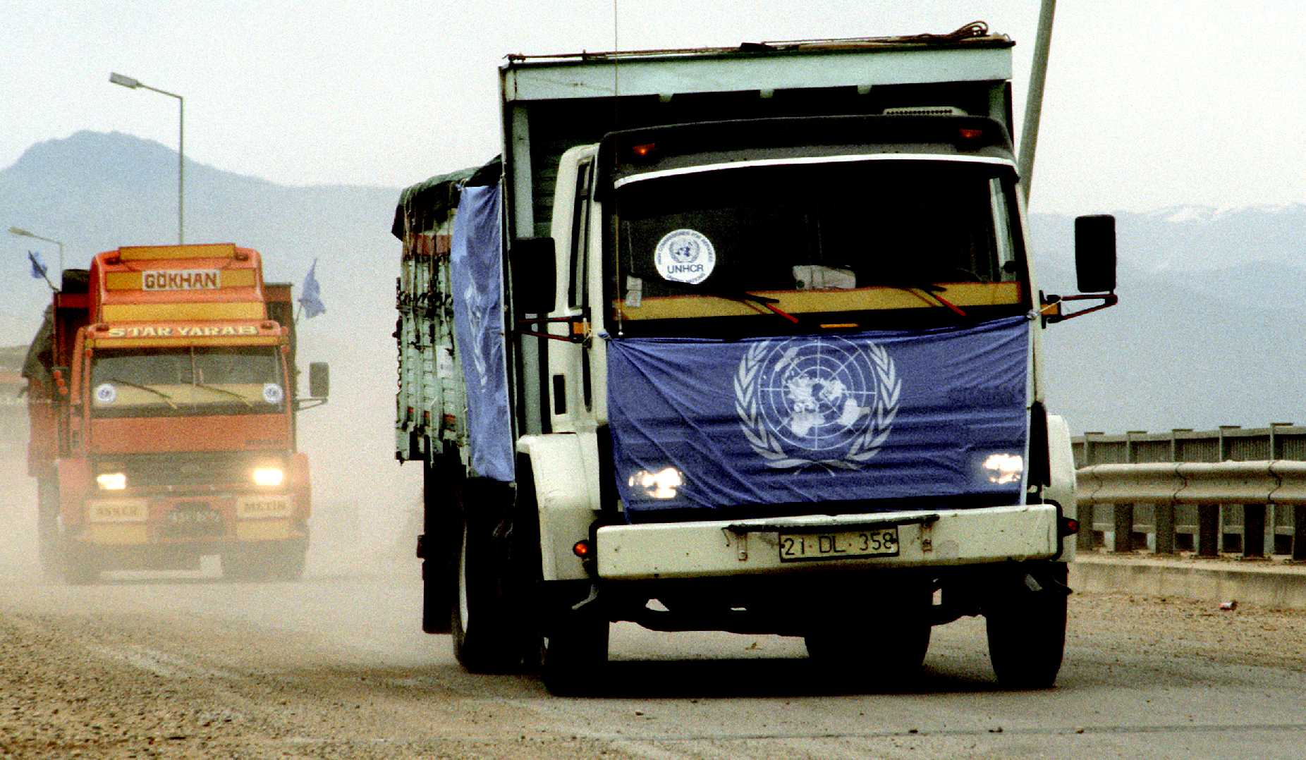 United Nations humanitarian refugee relief operations food supplies