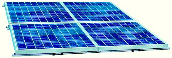Solar panel arrays to harvest clean electricity
